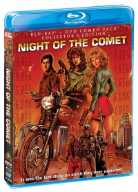 Night of the Comet Blu-ray cover