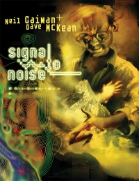 Signal to Noise cover by Dave McKean