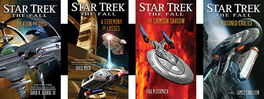 Star Trek: The Fall, Books 1-4