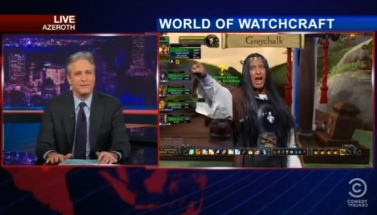 The Daily Show with Jon Stewart World of Warcraft
