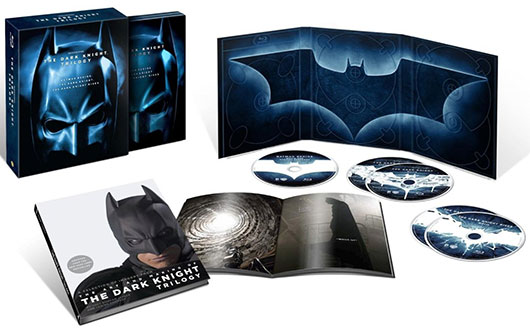 The Dark Knight Trilogy blu-ray set