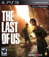 The Last of Us, Playstation 3 cover art