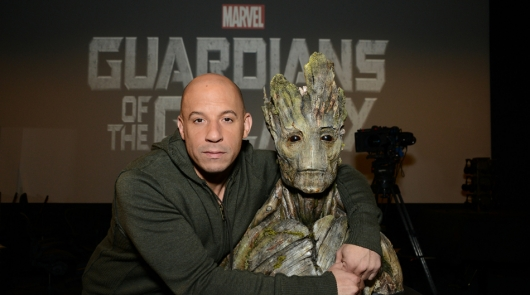 Vin Diesel & Groot For Marvel's Guardians of the Galaxy
