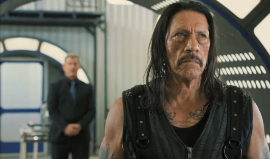 Danny Trejo and Mel Gibson in Machete Kills