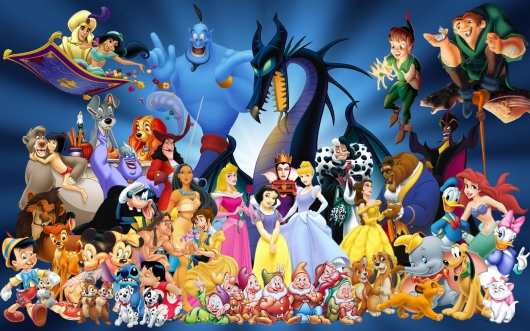 Disney Characters Header Image