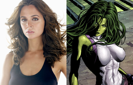 Eliza Dushku Plays She-Hulk in Hulk and the Agents of S.M.A.S.H.