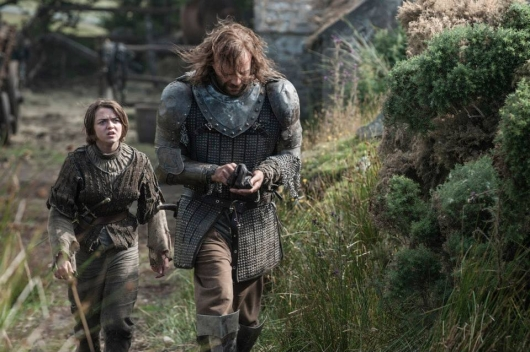 Game Of Thrones, Season 4 stills: Arya and The Hound