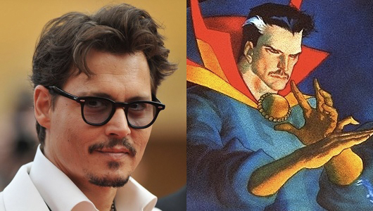 Johnny Depp Rumored To In Talks To Play As Doctor Strange