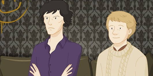 Sherlock Spoils Breaking Bad Animated Video