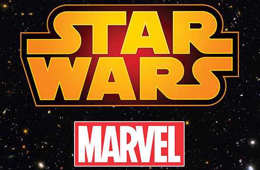 Star Wars Marvel logos