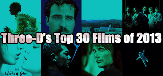 Top 30 Movies of 2013