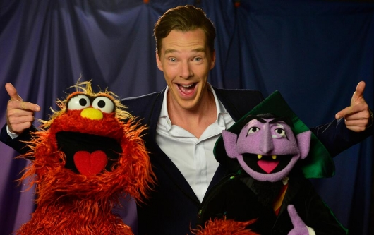 Benedict Cumberbatch Sesame Street Murray Monster, The Count