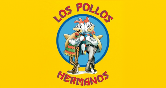 Breaking Bad Los Pollos Hermanos yellow design