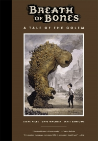 Breath of Bones: A Tale of the Golem cover by Dave Wachter