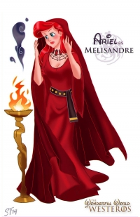 Ariel as Melisandre