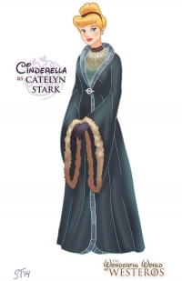 Cinderella as Catelyn Stark