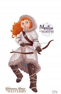 Merida as Ygritte