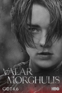 Game Of Thrones: Arya season 4 character poster