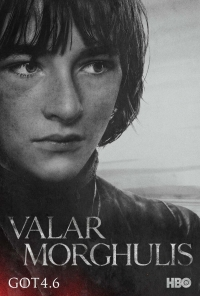 Game Of Thrones: Bran season 4 character poster