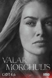 Game Of Thrones: Cersei season 4 character poster