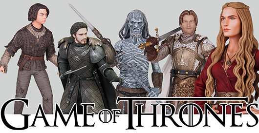 Games of Thrones figures banner