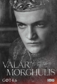 Game Of Thrones: Joffrey season 4 character poster