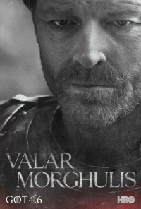 Game Of Thrones: Jorah season 4 character poster
