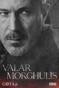 Game Of Thrones: Littlefinger season 4 character poster