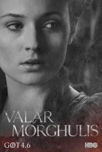 Game Of Thrones: Sansa season 4 character poster