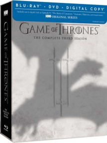 Game of Thrones The Complete Third Season Blu-ray