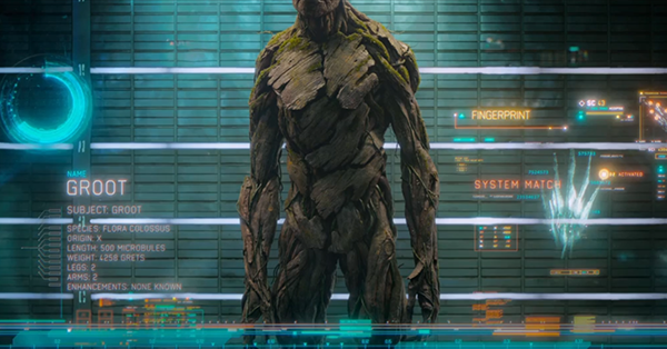 Guardians Of The Galaxy Groot