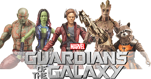 Guardians Of The Galaxy: Hasbro Toys banner