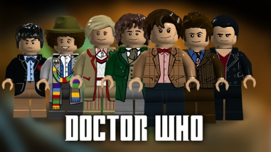 LEGO Doctor Who concept photo from LEGO CUUSOO