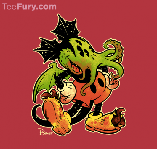Mickey Mouse Meets Cthulhu In Mickthulhu Mouse
