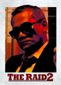 The Raid 2 Trading Cards: Bangun, front