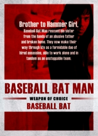 The Raid 2 Trading Cards: Baseball Bat Man, back