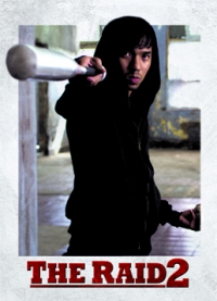 The Raid 2 Trading Cards: Baseball Bat Man, front