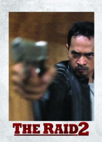 The Raid 2 Trading Cards: Eka, front