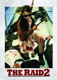 The Raid 2 Trading Cards: Hammer Girl, front