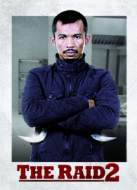 The Raid 2 Trading Cards: The Assassin, front