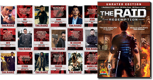 The Raid DVD giveaway