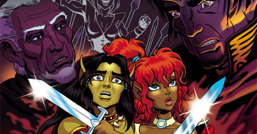 ElfQuest: The Final Quest #2 cover by Wendy Pini