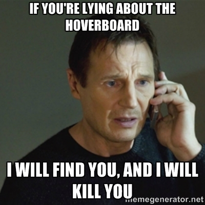 Taken Hoverboard