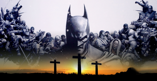 Batman Field of Crosses