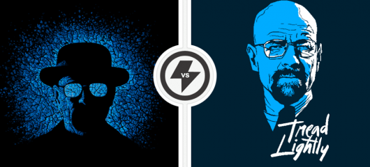 Breaking Bad Baby Blue vs Tread Lightly