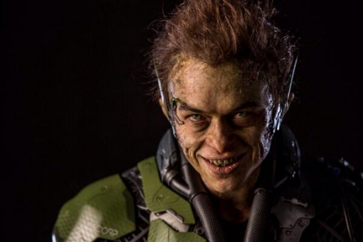 Dane DeHaan as Green Goblin in The Amazing Spider-Man 2