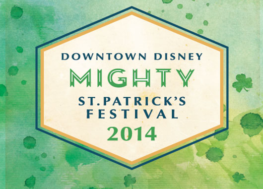 St. Patrick's Day Festival 2014 Disney World Downtown Disney