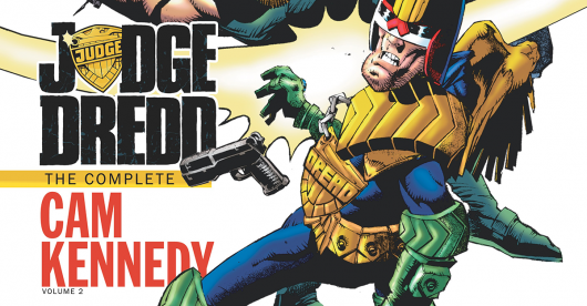 Judge Dredd: The Complete Cam Kennedy, Vol. 2