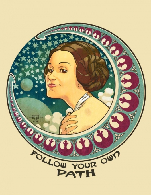 Star Wars International Women's Day Follow Your Own Path