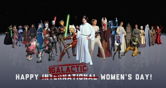 Star Wars International Women's Day 2014